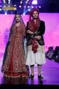 Naveen Waqar and Ahsan Khan at Bridal Couture Week