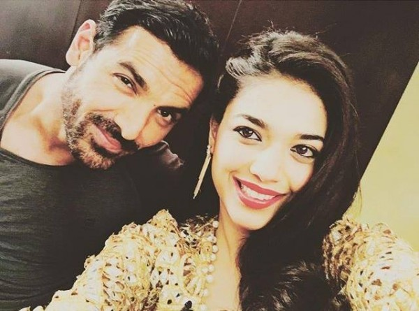 Sanam Jung with John Abraham
