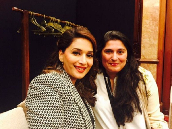 Sharmeen Obaid with Madhuri Dixit