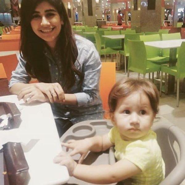 Syra Shehroze daughter pic