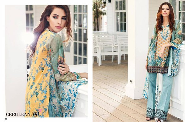 Tena Durrani Lawn Dresses 2016 For Women009