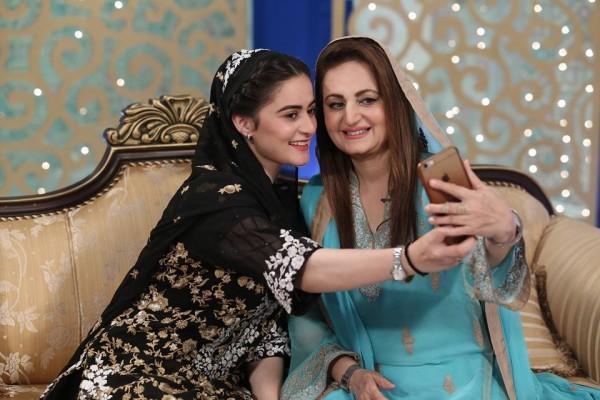 Aiman Khan and Layla Zuberi