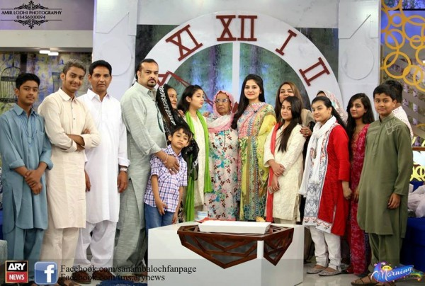 Amjad Sabri (Late) with his Family (5)