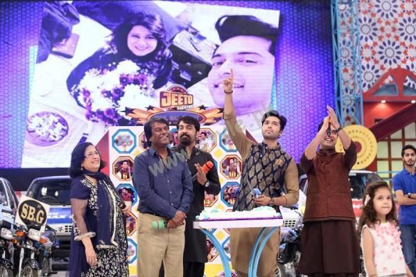 Fahad Mustafa Birthday Celebration on ARY Digital01