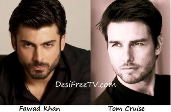 Fawad Khan look alike Tom Cruise