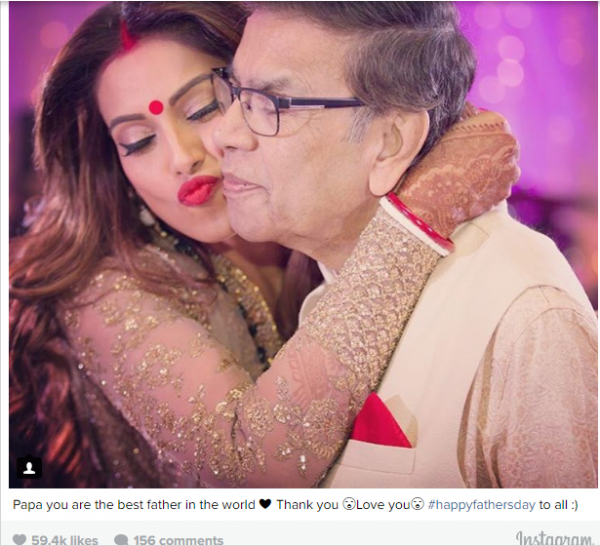 How celebrities wished their fathers on Father's day (10)