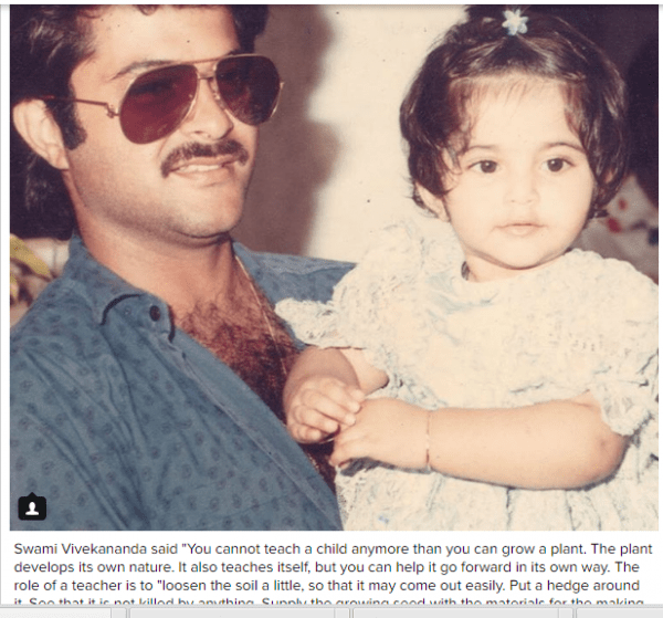 How celebrities wished their fathers on Father's day (11)