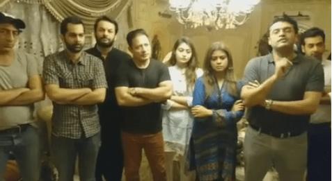 Pakistani Artists Unites Against Terrorism 02