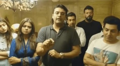 Pakistani Artists Unites Against Terrorism 03