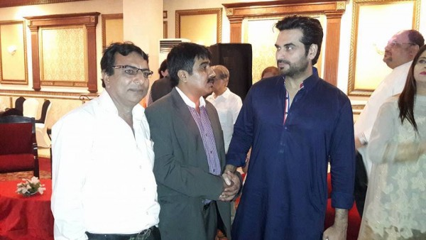 Pakistani Celebrities at the trailer launch of Actor in Law (15)