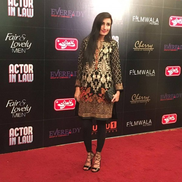 Pakistani Celebrities at the trailer launch of Actor in Law (19)