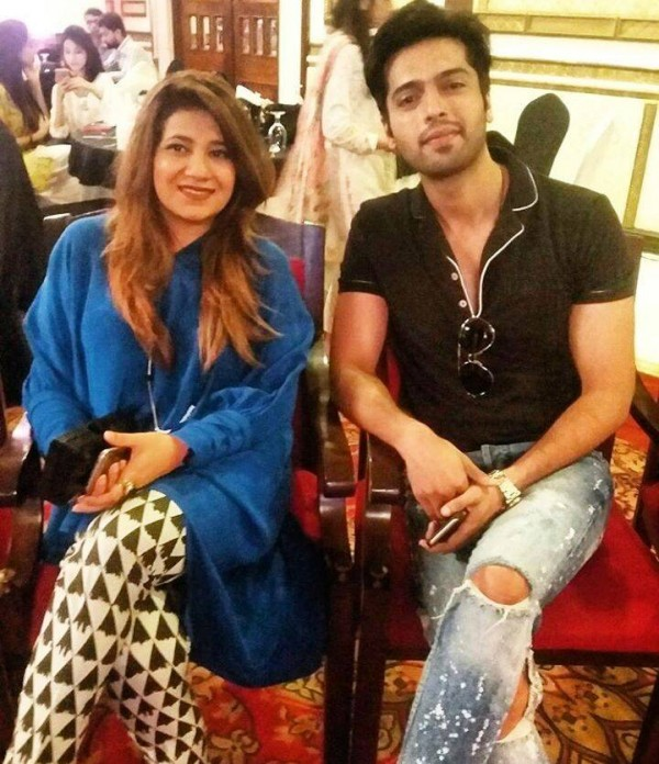 Pakistani Celebrities at the trailer launch of Actor in Law (21)