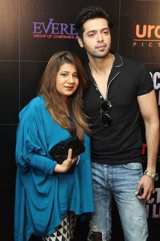 Pakistani Celebrities at the trailer launch of Actor in Law (23)