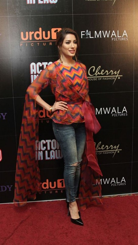 Pakistani Celebrities at the trailer launch of Actor in Law (27)