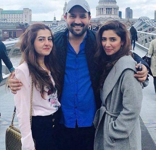 Pictures of Mahira Khan in London (3)