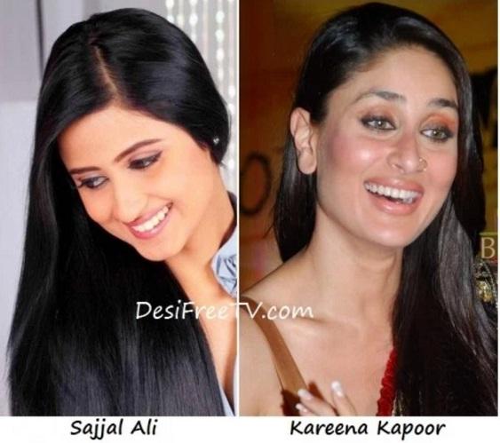 Sajjal Ali look alike Kareena Kapoor