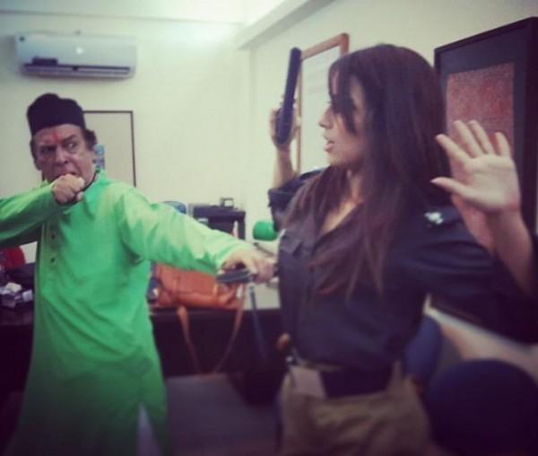 Ushna Shah as female police officer