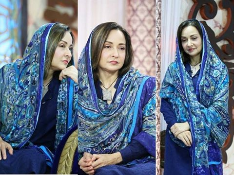 See Zeba Bakhtiyar appeared on TV after a long time