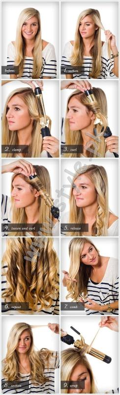 learn how to curl your hair wih curler03