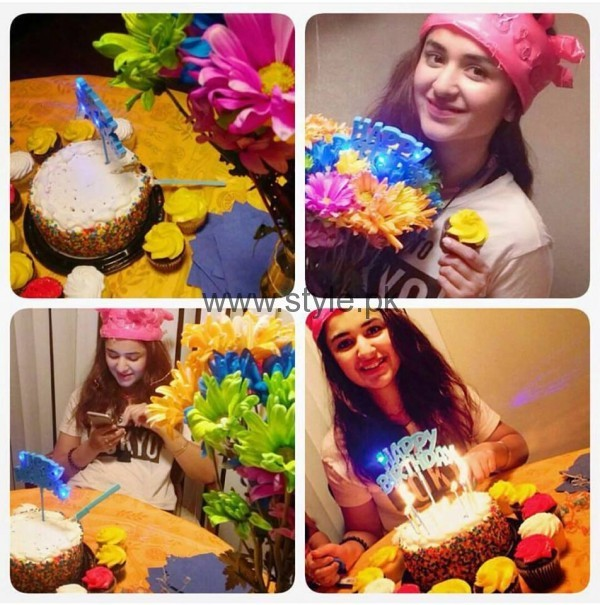 See Yumna Zaidi celebrating her 27th Birthday