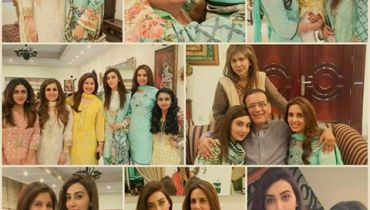 See Ayesha Khan with her family