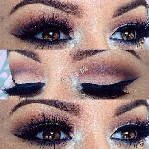 Blue Eyeliner Makeup Ideas.6