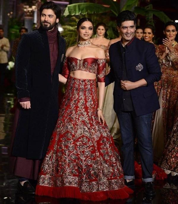 Fawad Khan and Deepika Padukone as showstoppers (5)