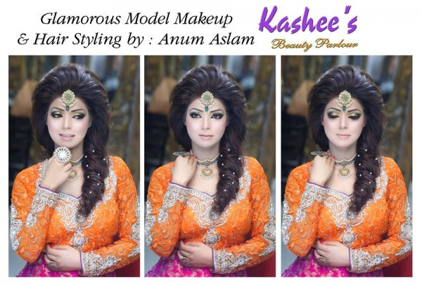 Glamorous makeup ideas by Kashee's