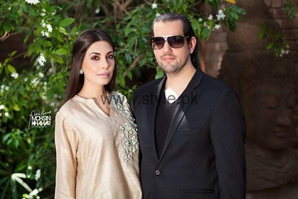 Maheen And Shahbaz Taseer Photoshoot For Hello Magazine001