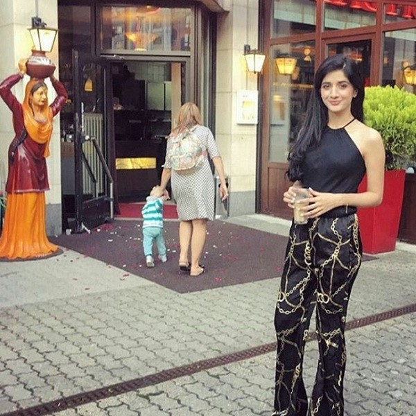 Mawra Hocane In Berlin