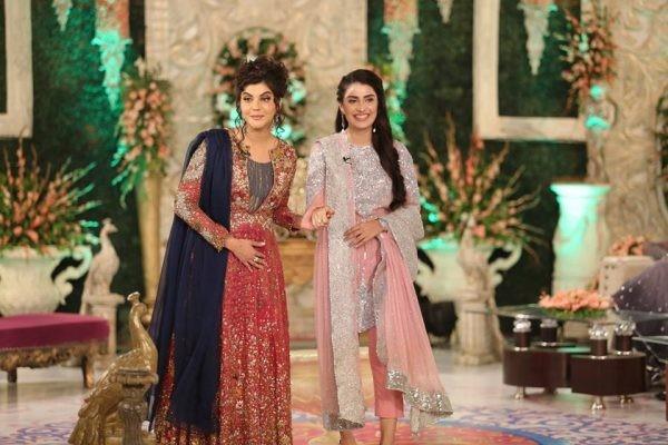 Nida Yasir And Ayeza Khan On Eid 2016
