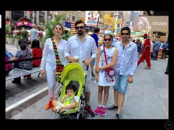 See Nida Yasir is enjoying vacations in USA