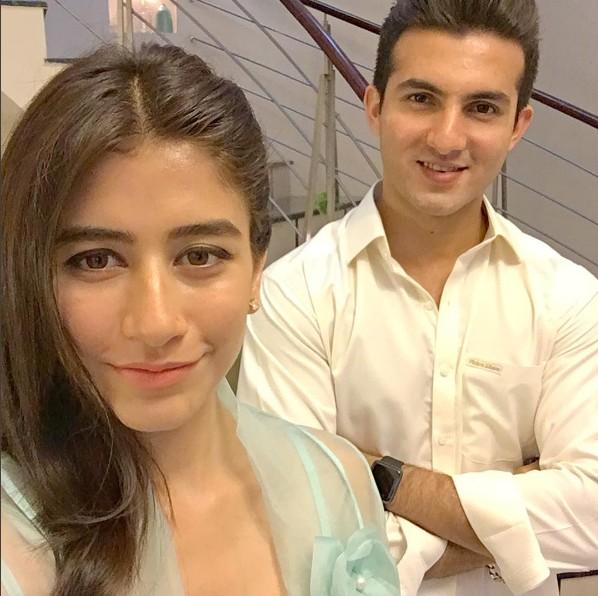 Syra And Sheroz On Eid 2016