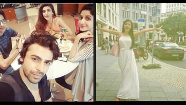 See The Hocane siblings and Farhan Saeed enjoying in Germany