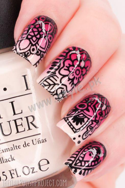 amazing nail art 2016 videos and tutorials02