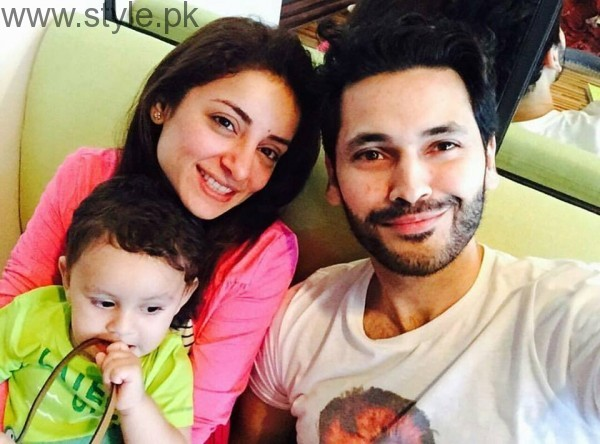 See Recent Family Picture of Sarwat Gilani and Fahad Mirza