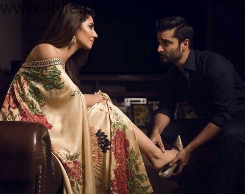 See Mahira Khan and Hamza Ali Abbasi's recent click for Diva Magazine