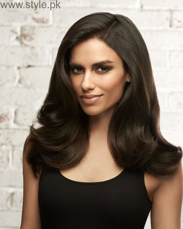 5 Different Hair Blow dry styles (6)