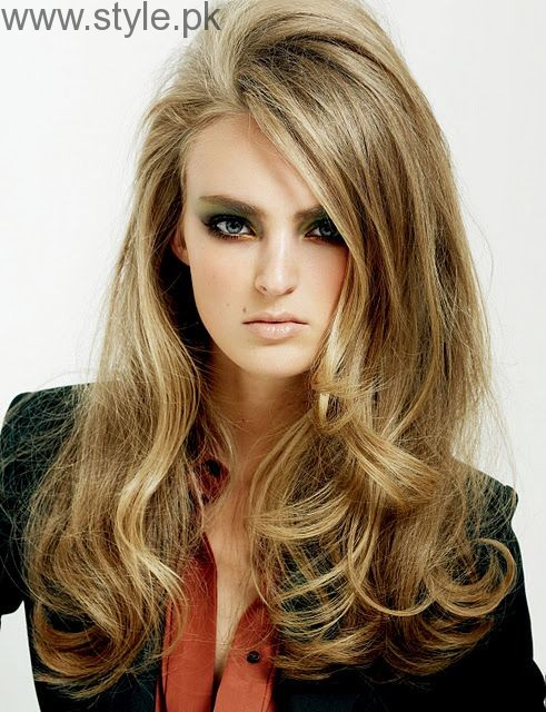 5 Different Hair Blow dry styles (7)