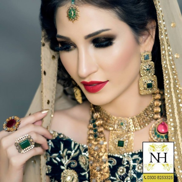 Abeer Rizvi Pakistani Bridal Makeup Ideas