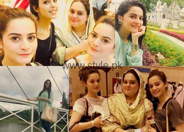 See Aiman Khan and Minal Khan are enjoying in Thailand
