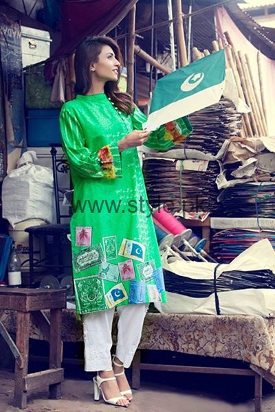 Al Zohaib Textile Independence Day Dresses 2016 For Women008