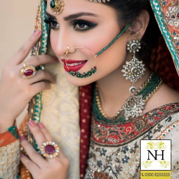 Ayeza Khan Bridal Makeup