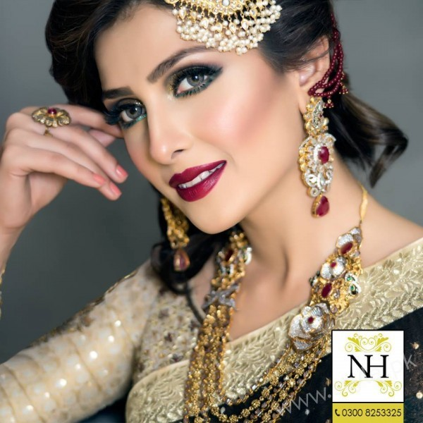 Ayeza Khan Pakistani Bridal Makeup ideas