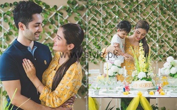 See Ayeza Khan and Danish Taimoor at their second wedding anniversary
