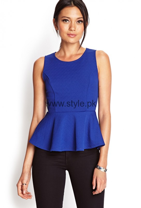 See Blue Summer Tops for Women 2016