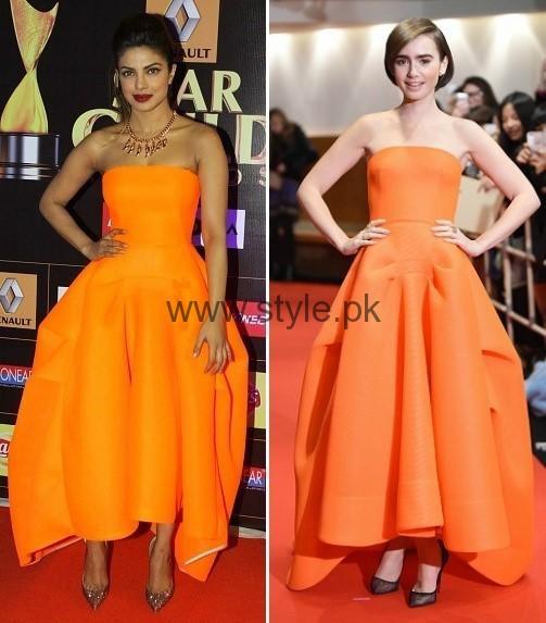 Celebrities Wearing Same Dresses (3)