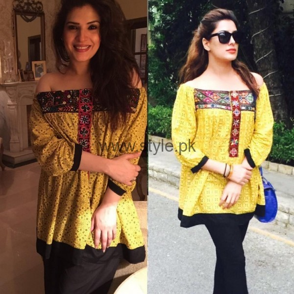 Celebrities Wearing Same Dresses (6)