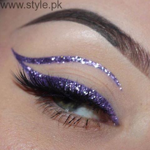 Colorful Eyeliner trends 2016 in Pakistan (11)