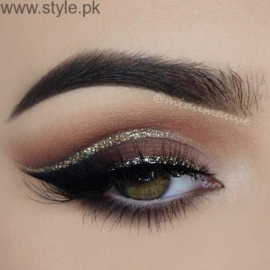 Colorful Eyeliner trends 2016 in Pakistan (12)